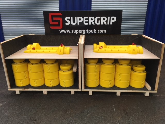 Supergrip deliver further centralisers and Fast-Lok bend restrictors 4