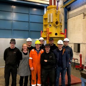Supergrip deliver ROV Activated J-Tube Seal for bundle assembly 1