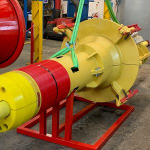 Supergrip deliver ROV Activated J-Tube Seal for bundle assembly 2
