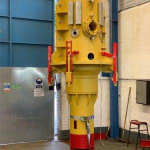 Supergrip deliver ROV Activated J-Tube Seal for bundle assembly 3