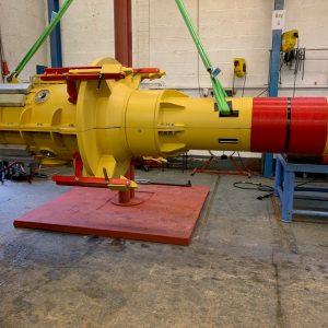 Supergrip deliver ROV Activated J-Tube Seal for bundle assembly 4