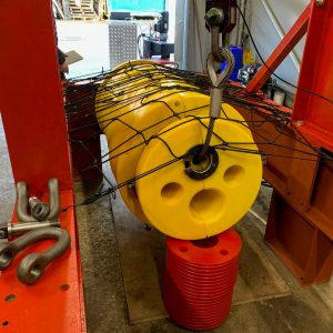 Supergrip deliver ROV Activated J-Tube Seal for bundle assembly 5