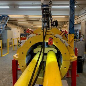 Supergrip deliver ROV Activated J-Tube Seal for bundle assembly 6